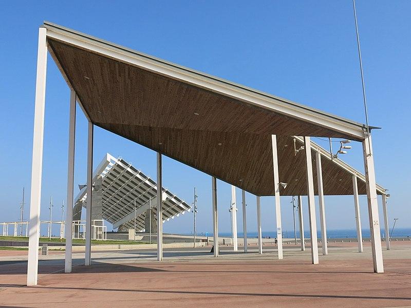 Parc del Fòrum, sede del Primavera Sound Festival dal 2005