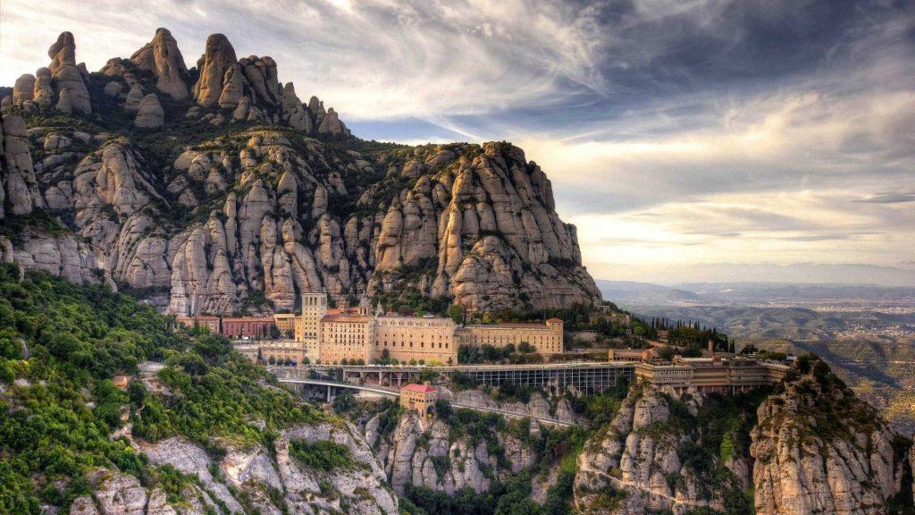 escursione al Montserrat - vista Montserrat