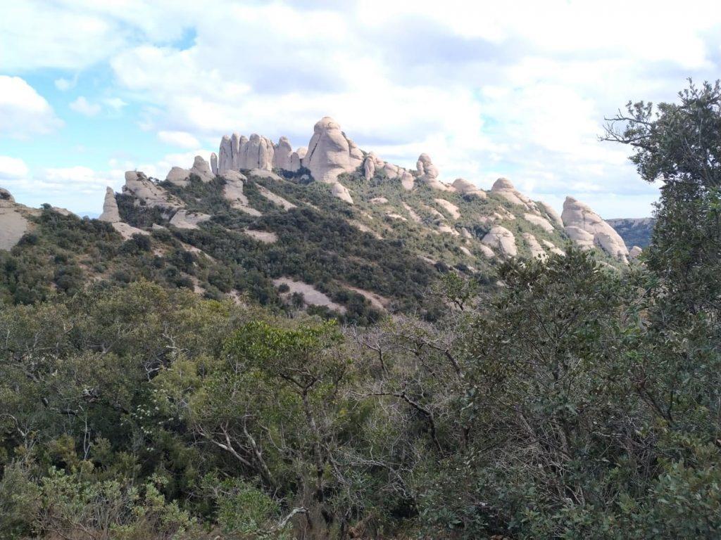 escursione al Montserrat - Collina Rocciosa
