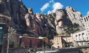 escursione al Montserrat - Versante Roccioso