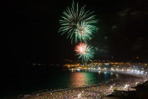 Sant Joan-fuochi d'artificio