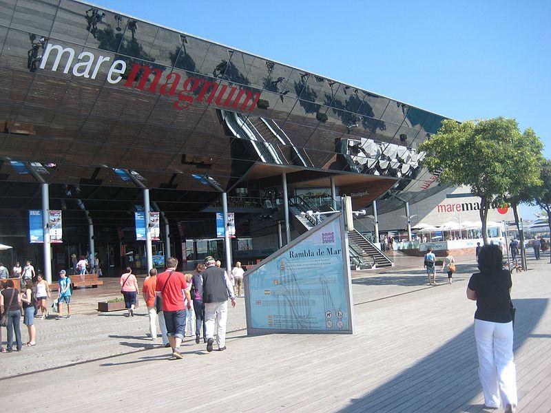 domenica-centro commerciale Maremagnum