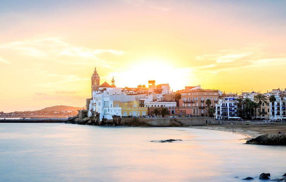 Paesini catalani da visitare-Sitges tramonto