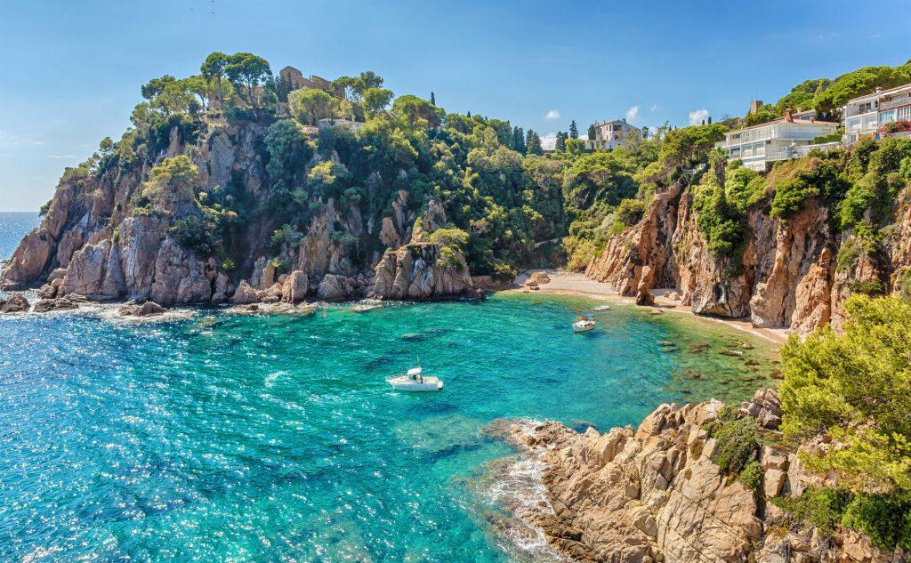 Località di mare vicino a Barcellona-Blanes