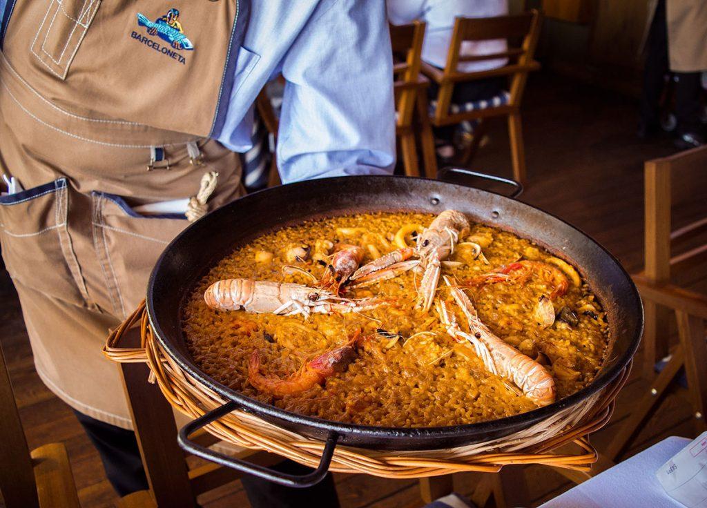 Dove mangiare la paella a Barcellona-restaurante barceloneta