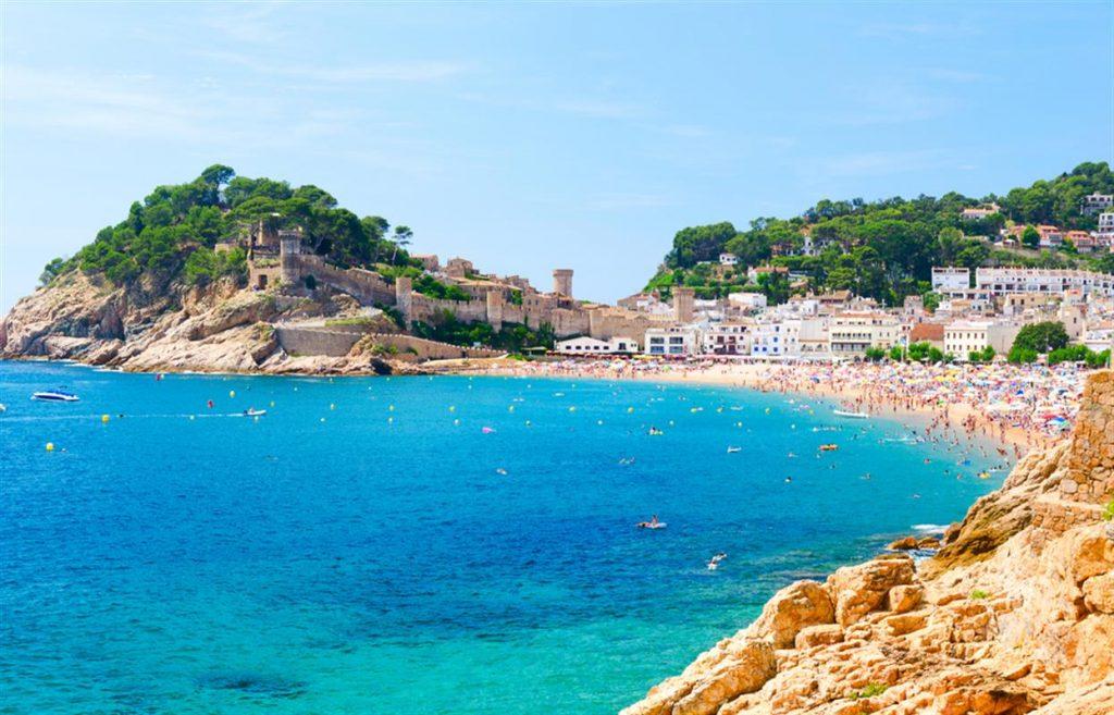 Località di mare vicino a Barcellona-Tossa