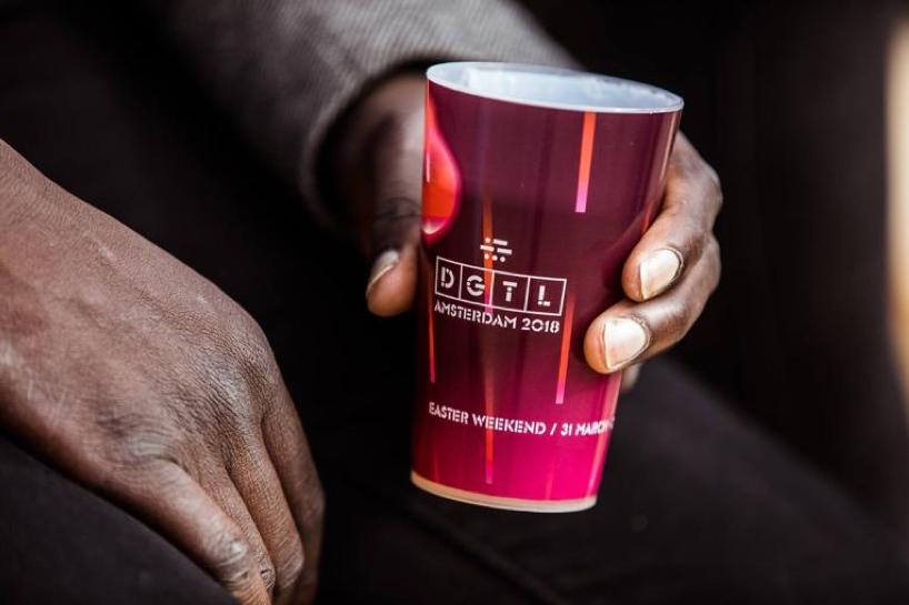 DGTL Barcelona 2019-bicchiere di plastica dura