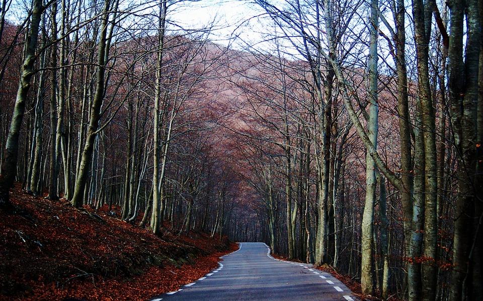 percorsi di montagna della Catalogna-Montseny