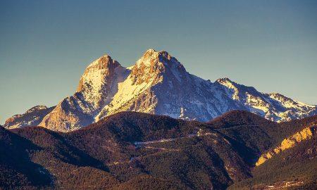 Percorsi di montagna della Catalogna-pedraforca
