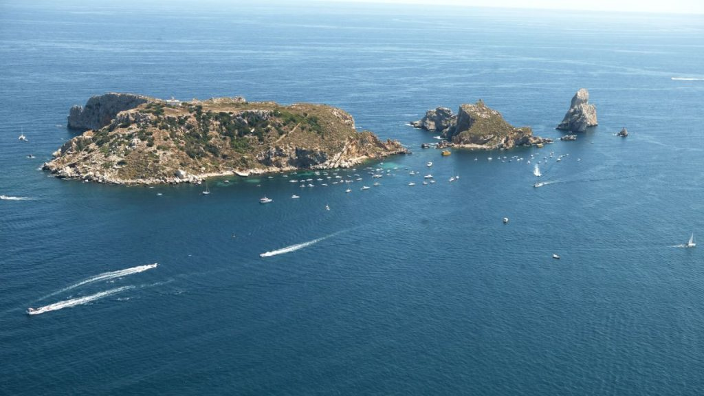 girare la Catalogna in auto-isole medas