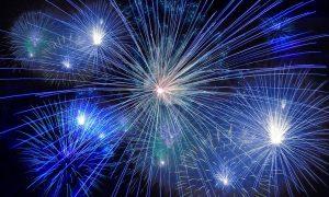 Capodanno A Barcellona-fuochi d'artificio