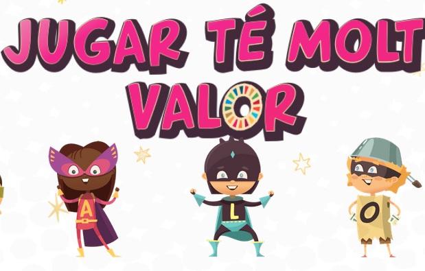 Festival dell'infanzia di Barcellona-Jugar té molt Valor