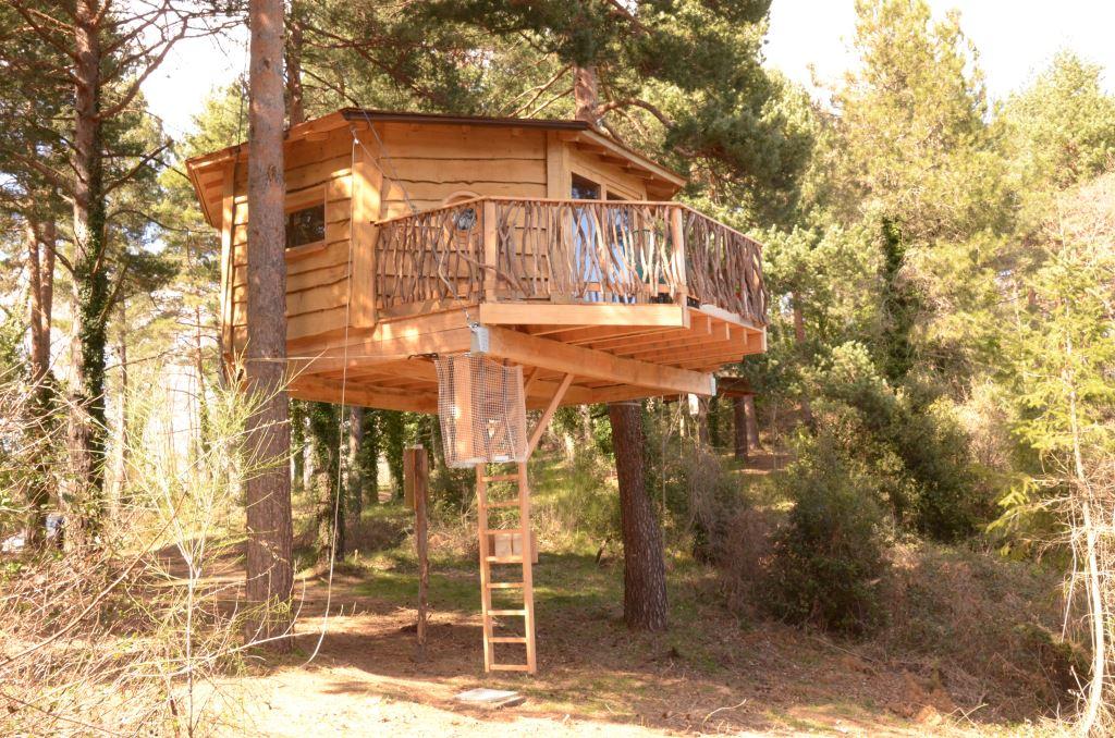 campeggi alternativi-Cabanes Als Arbres