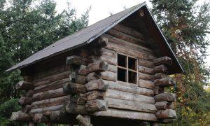 campeggi alternativi-Casetta in legno sull'albero