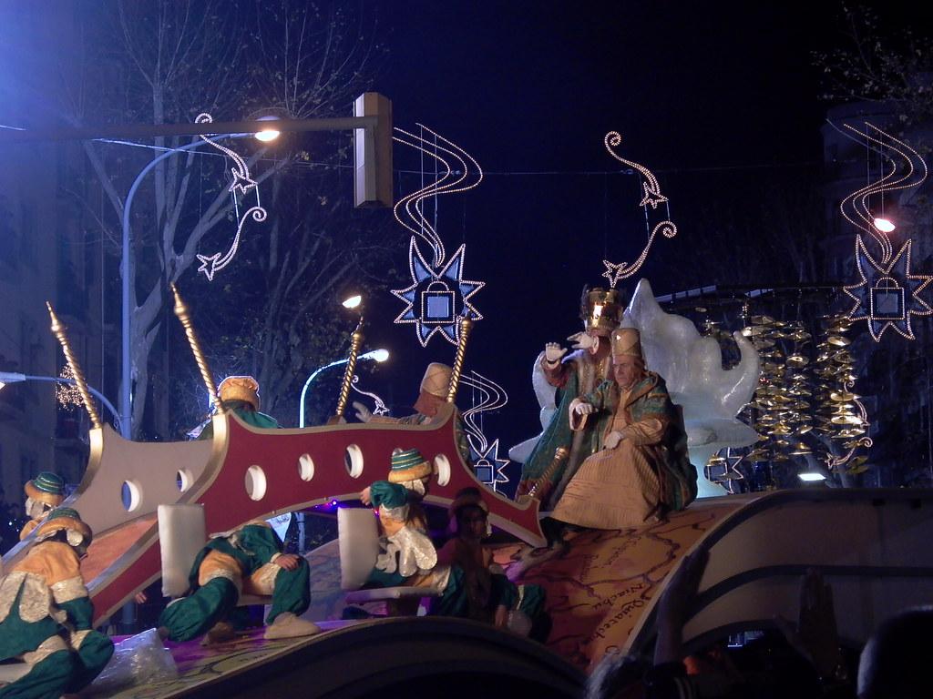 Cabalgada de Reyes Magos-Sfilata Re Magi