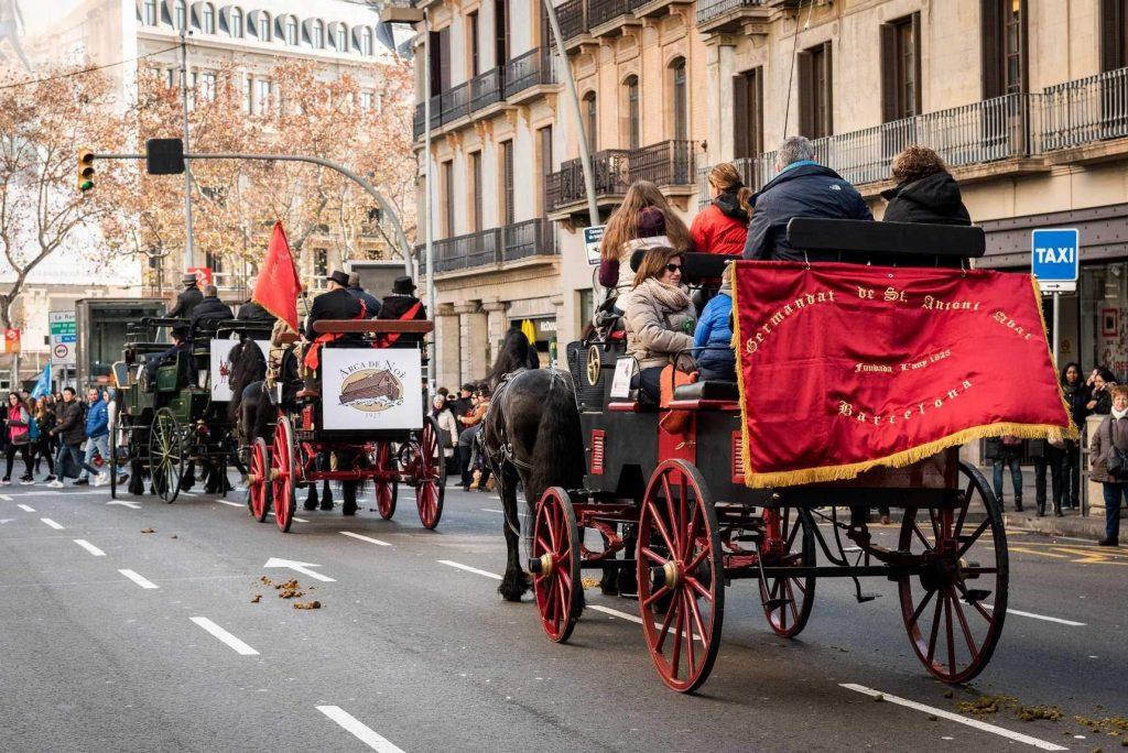 Festa Major de Sant Antoni-carri