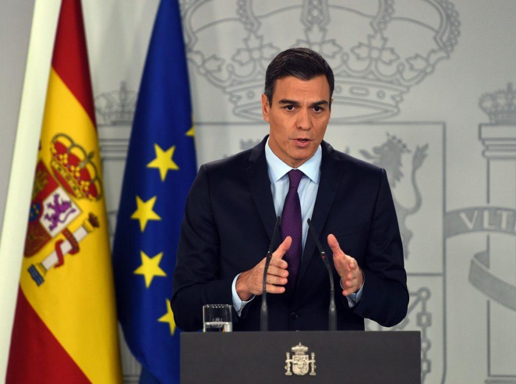 la spagna apre le frontiere-Pedro Sanchez