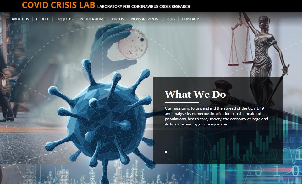 Covid Crisis Lab-Sito Laboratorio