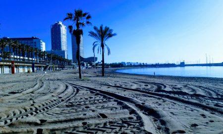 accesso controllato-Spiaggia barcellona