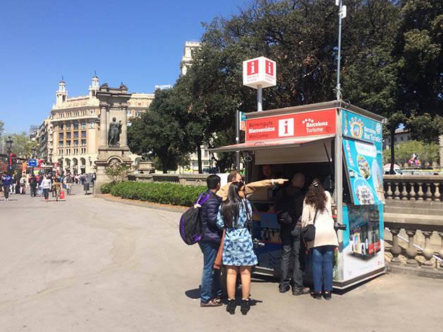 Il turismo a Barcellona diminuisce dell'80%