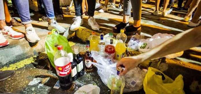 Proibito il consumo di alcol nelle vie pubbliche-Botellon