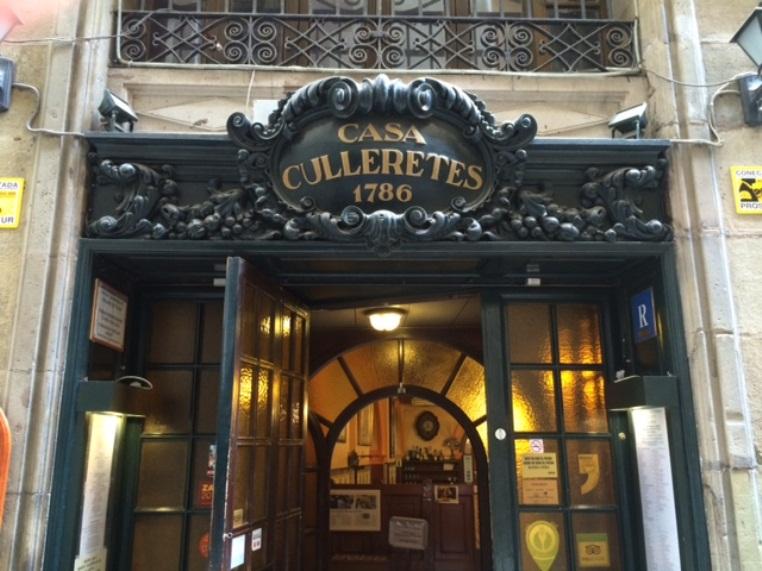 i 3 ristoranti più antichi-Casa Culleretes