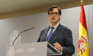 11 misure restrittive-Salvador Illa Ministro De Sanidad En Rueda De Prensa