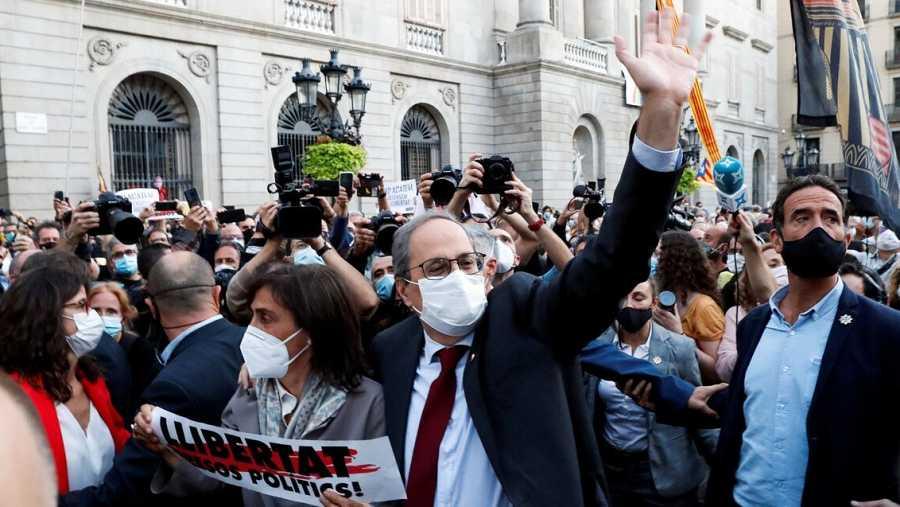 Quim Torra-Presidente Governo Catalano