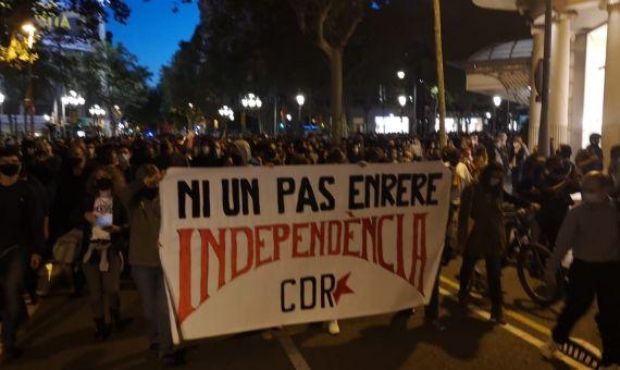 Protesta Quim Toprra