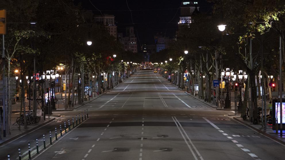 Confinamento Territoriale-Cataluña