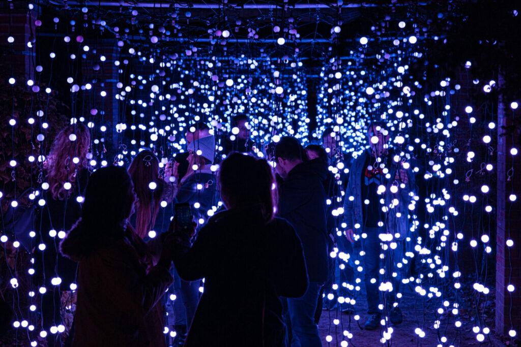 Els Llums de Sant Pau-illuminazioni natalizie