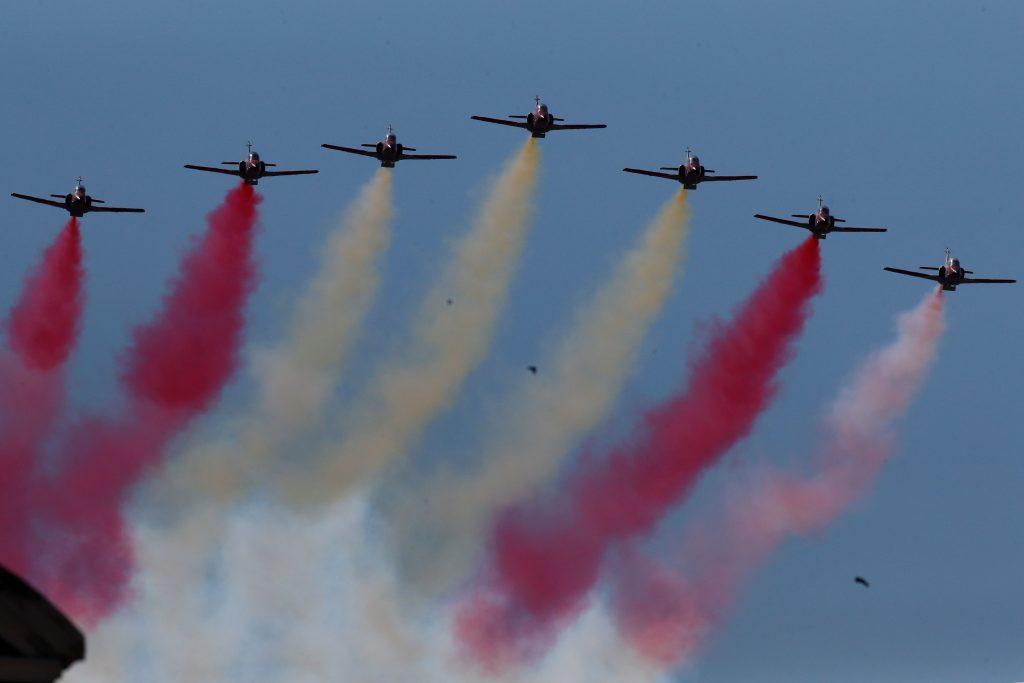 Festa nazionale spagnola- parata aerea