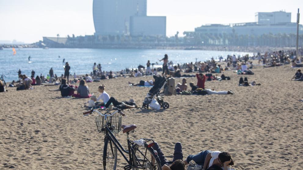 Governo Spagna-Spiaggia barcellona 1 Novembre