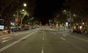 Coprifuoco Barcellona