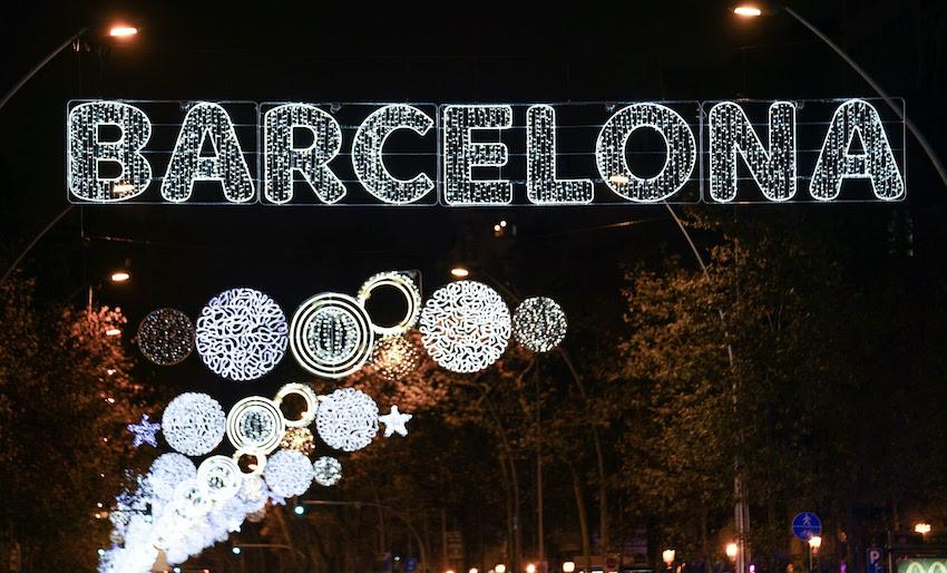 Coprifuoco-Natale Barcellona