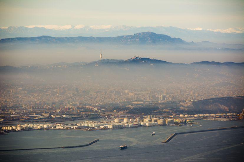 Aria Inquinata Di Barcellona