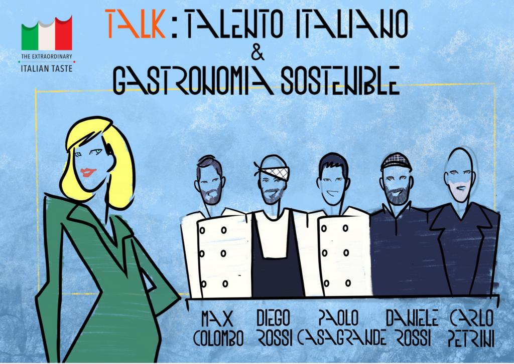 Talento Italiano E Gastronomia Sostenibile 2021