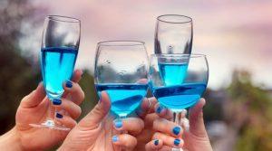Vino Azzurro - Blue Moscato