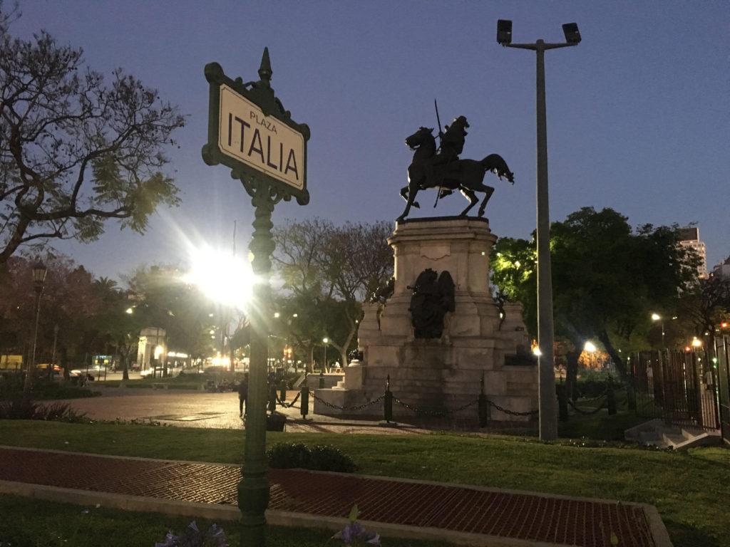 Monumento equestre a Garibaldi