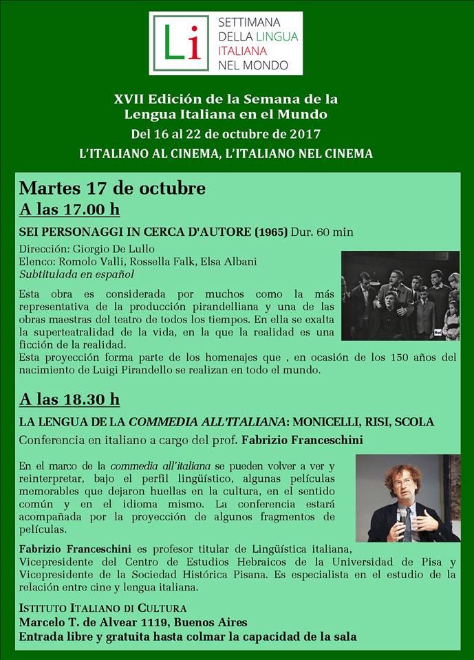 Settimana della Lingua Italiana