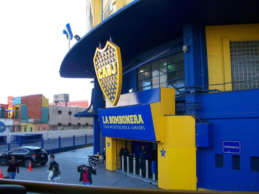 Ingresso dello stadio di Boca. Photo credit: Marta Potenza