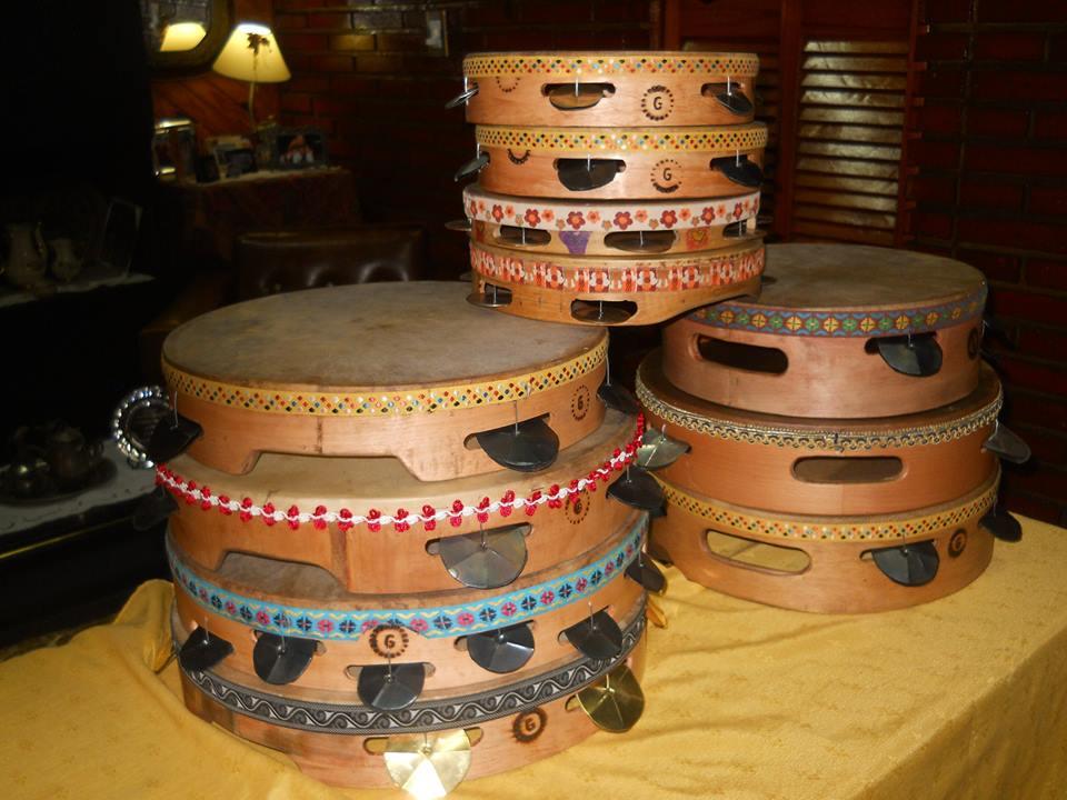 El arte de los tamburelli en Buenos Aires.
