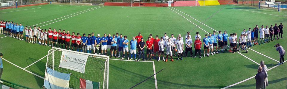 torneo calcetto Accademia sportiva di Buenos Aires