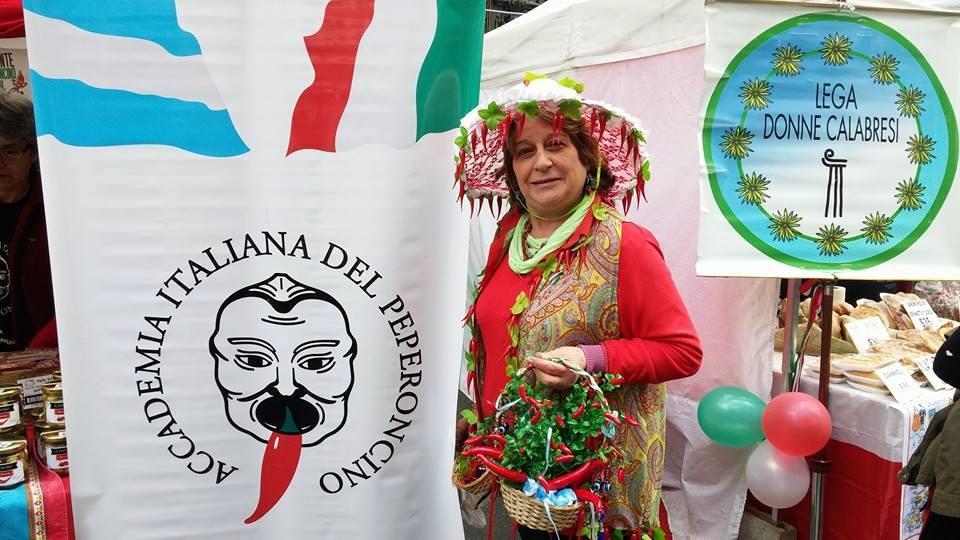 Donna peperoncino durante festival Buenos Aires 2016
