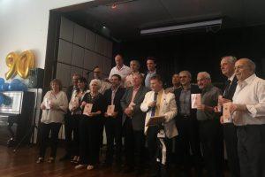 Presidenti associazioni friulane argentine al compleanno della none