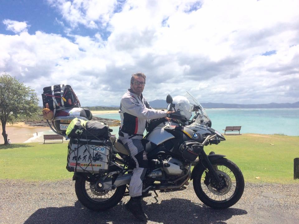 Sebastiano Coco ha un sogno da piccolo: girare il mondo in moto!