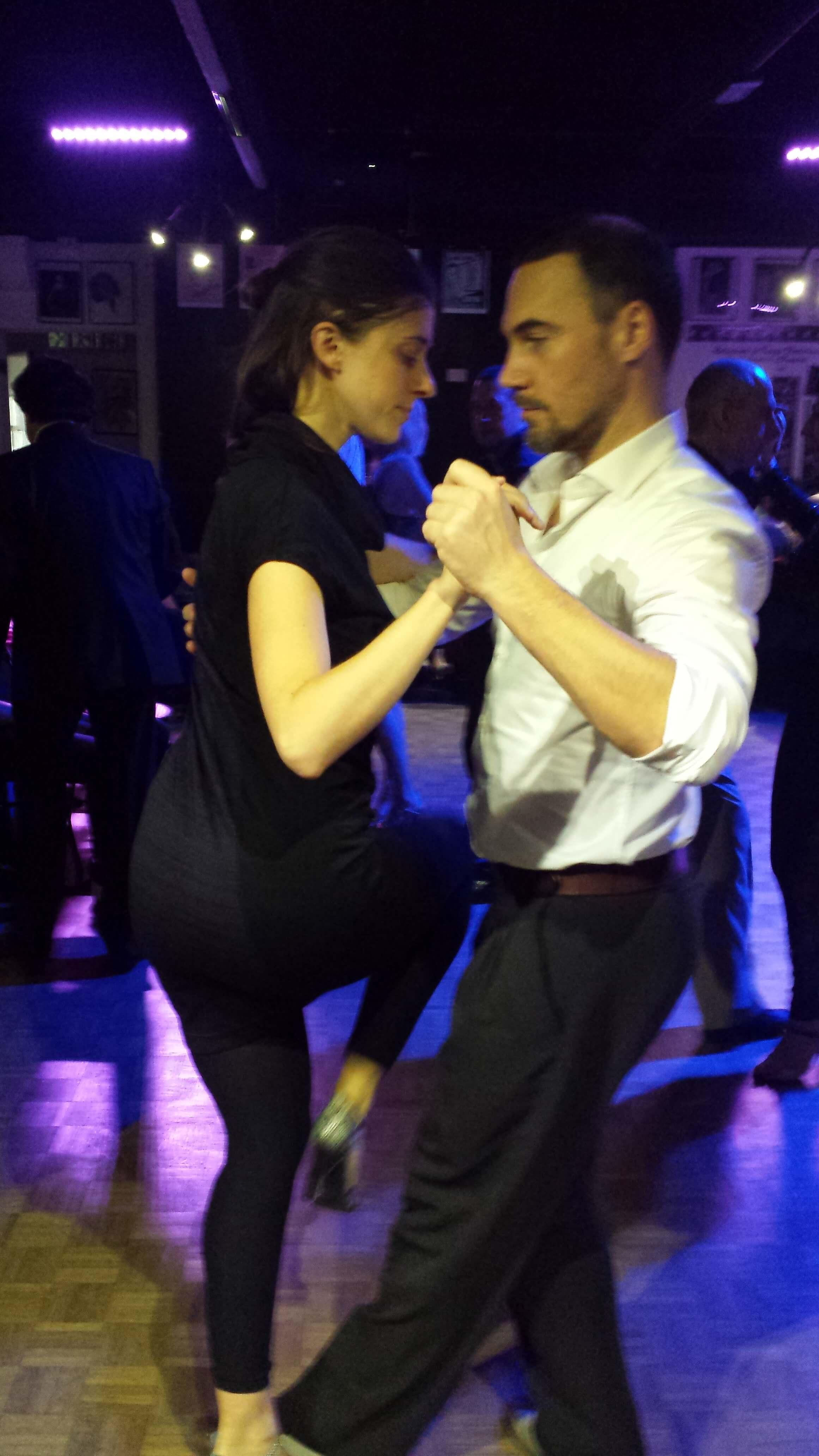 Camilla balla tango milonga