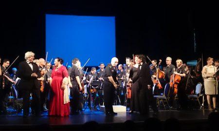 La foto del spettacolare concerto al Teatro Coliseo di Lomas de Zamora.