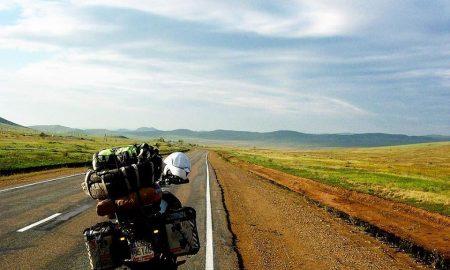 Il sogno di girare il mondo in moto.