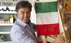 Il chef italiano a Buenos Aires.